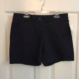 Navy Crown & Ivy Shorts